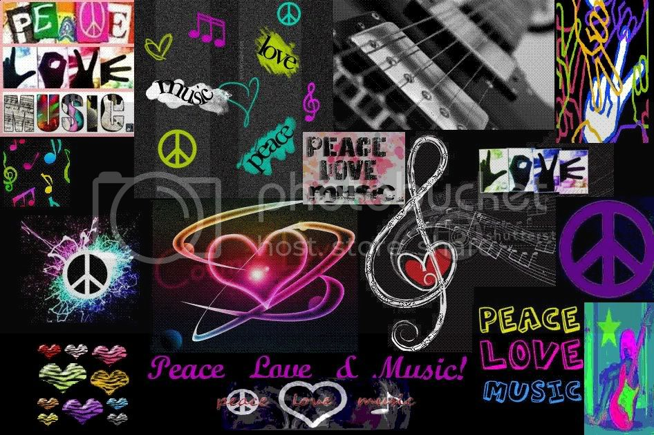 Peace Love and MUSIC Pictures, Images and Photos